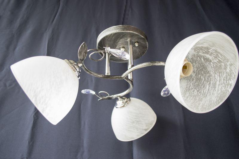 Люстра на 3 лампочки 7358c-3 (CRBS)
