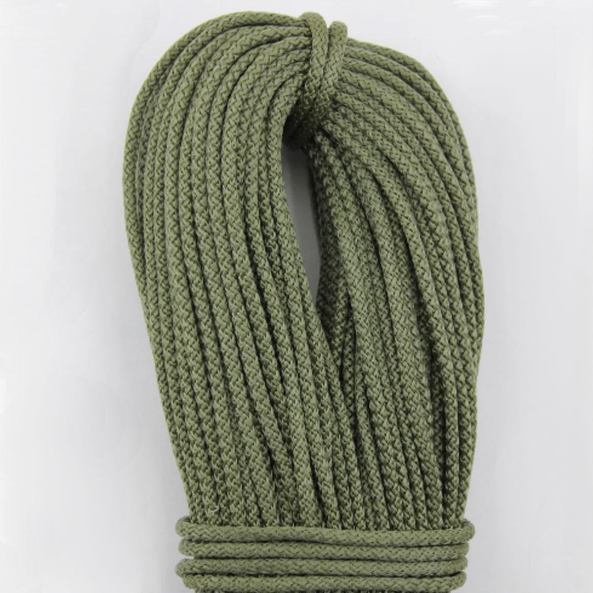 Шнур поліпропіленовий плетений з сердечником 4 мм 100 м хакі