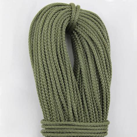 Шнур поліпропіленовий плетений з сердечником 4 мм 100 м хакі, фото 2