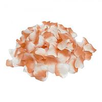 Лепестки роз (уп. 120шт) кораллово-белые, фото 1