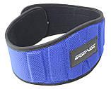 Пояс для тяжелой атлетики неопреновый SportVida SV-AG0097 (XXL) Blue, фото 4
