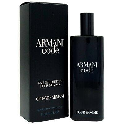 Мужские мини духи туалетная вода GIORGIO ARMANI Code Pour Homme 15ml цитрусовый пряный аромат  ОРИГИНАЛ
