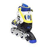 Роликовые коньки Nils Extreme NA1152A Size 31-34 Yellow, фото 3