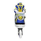 Роликовые коньки Nils Extreme NA1152A Size 31-34 Yellow, фото 5
