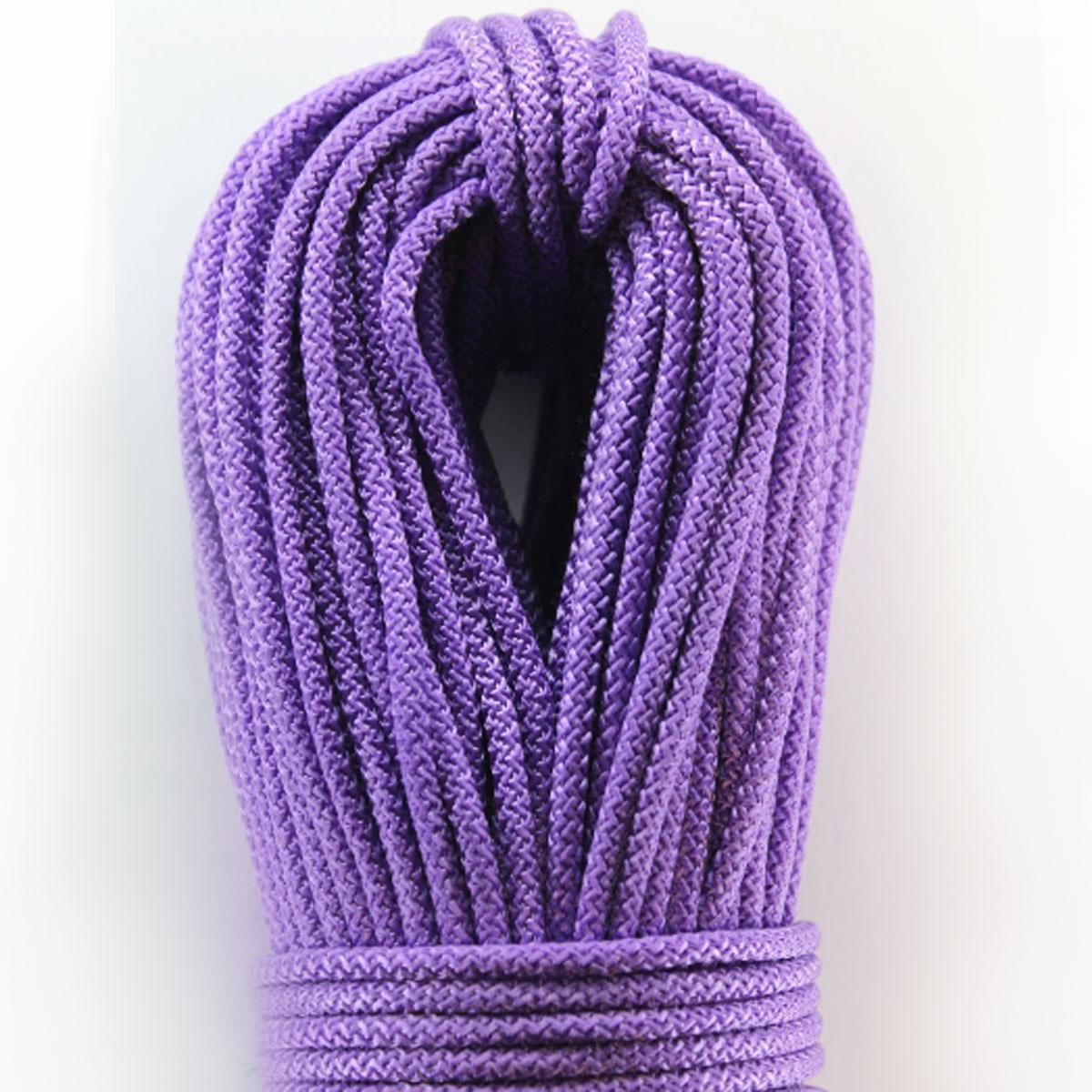Шнур поліпропіленовий плетений з сердечником 4 мм 100 м фіолетовий