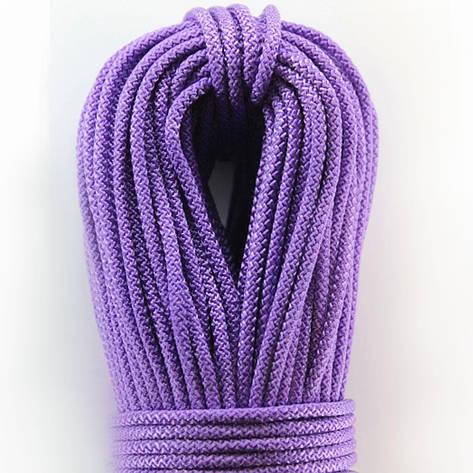 Шнур поліпропіленовий плетений з сердечником 4 мм 100 м фіолетовий, фото 2