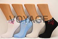 Жіночі короткі шкарпетки з бавовни в сіточку КЛ 36-40 wi-fi асорті сітка