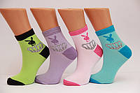 Жіночі шкарпетки високі стрейчеві з бавовни комп'ютерні STYLE LUXE КЛ kjs25 плейбой