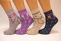 Женские носки средние стрейчевые с хлопка компютерные Style Luxe КЛ KJ   kj63