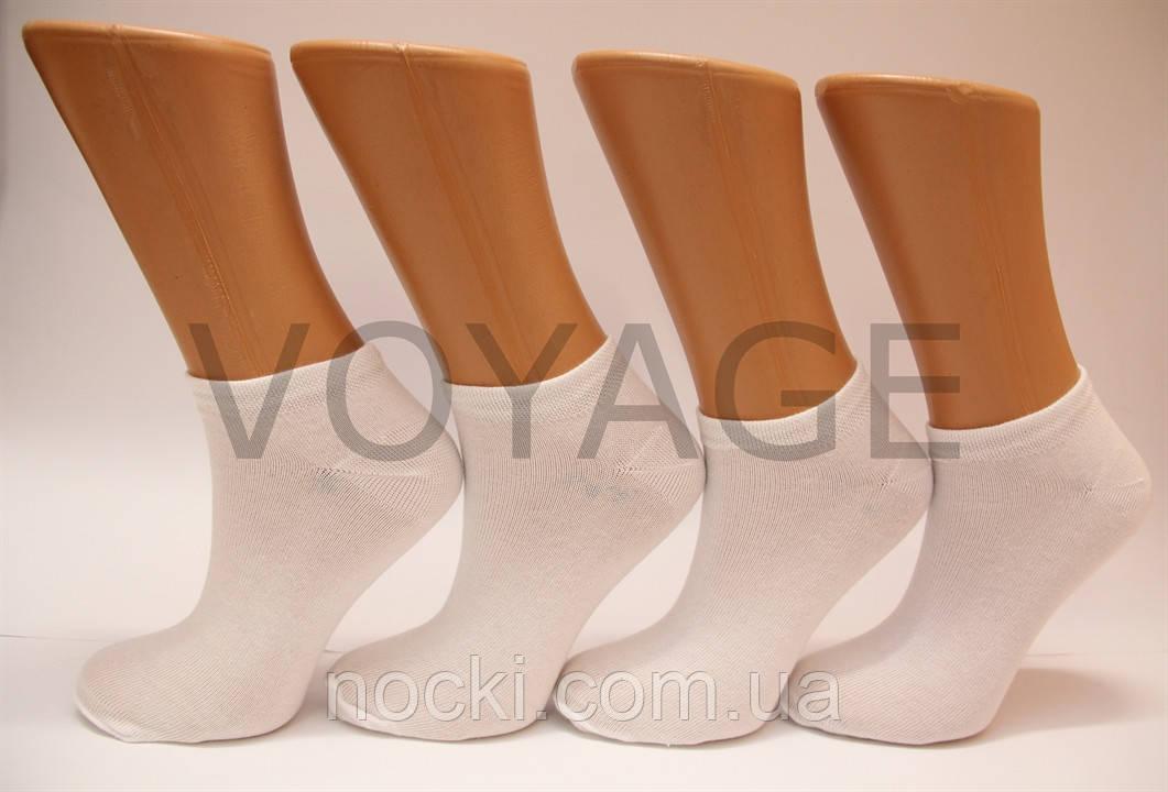 Жіночі короткі шкарпетки з бавовни класика SL КЛ 35-39 білий