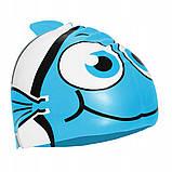 Шапочка для плавания детская SportVida SV-DN0016JR Blue, фото 3