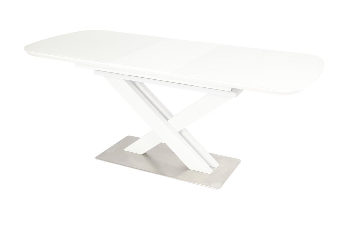Стол ТМL-500 (Белый мат) 1400(+400)*800