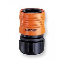 """Соединение 1/2"""" для поливочного шланга Claber 8606"""