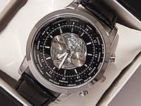 Мужские кварцевые наручные часы Breitling на кожаном ремешке