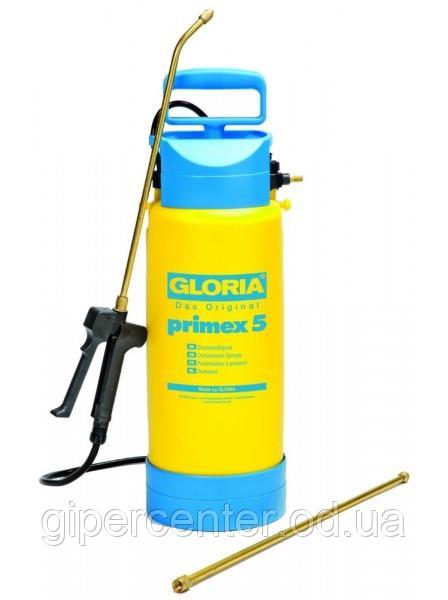 Опрыскиватель Gloria Primex 5, 5 л. с насосом