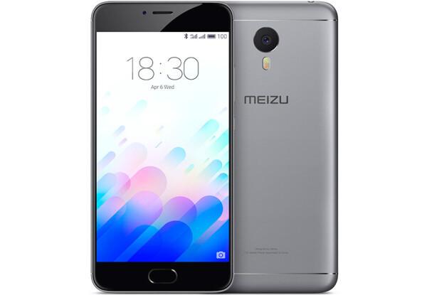 Смартфон Meizu M3 Note 16 Gb Gray Stock А-