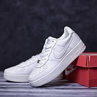 Мужские кроссовки Nike Air Force 1 White / Найк Аир Форс 1 Белые 42