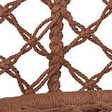 Подвесное кресло-качели (плетеное) Springos SPR0023 Braun, фото 6