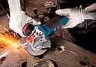 Угловая шлифмашина Bosch Professional GWX 17-125 S + пылезащитный фильтр (06017C4002F), фото 3