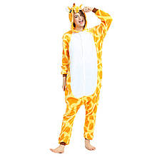 Піжама кигуруми Жираф костюм, комбінезон, розмір M, XL