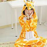 Піжама кигуруми Жираф костюм, комбінезон, розмір M, XL, фото 3