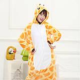 Піжама кигуруми Жираф костюм, комбінезон, розмір M, XL, фото 4