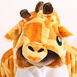 Піжама кигуруми Жираф костюм, комбінезон, розмір M, XL, фото 5