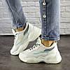 Женские белые кроссовки демисезонные 1496