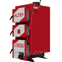 Твердопаливний котел тривалого горіння Альтеп Класик 10 кВт, фото 3