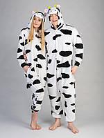 Пижама кигуруми женская и мужская Корова S (150-160см)