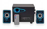 Акустическая система 2.1 Ciber U-2533BT с Bluetooth, FM, USB, SD  + пульт
