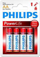 Батарейки АА Philips PowerLife (LR6E2B)