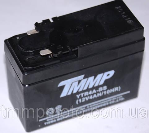 Аккумулятор 12V4a.h HONDA DIO   ТММР, фото 2