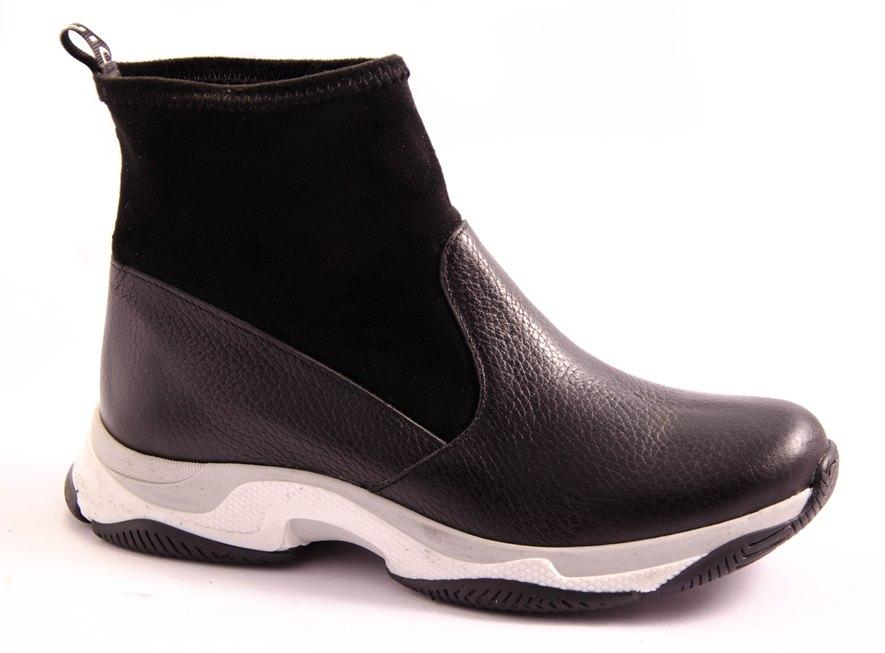Ботинки женские черные Vesna 2623