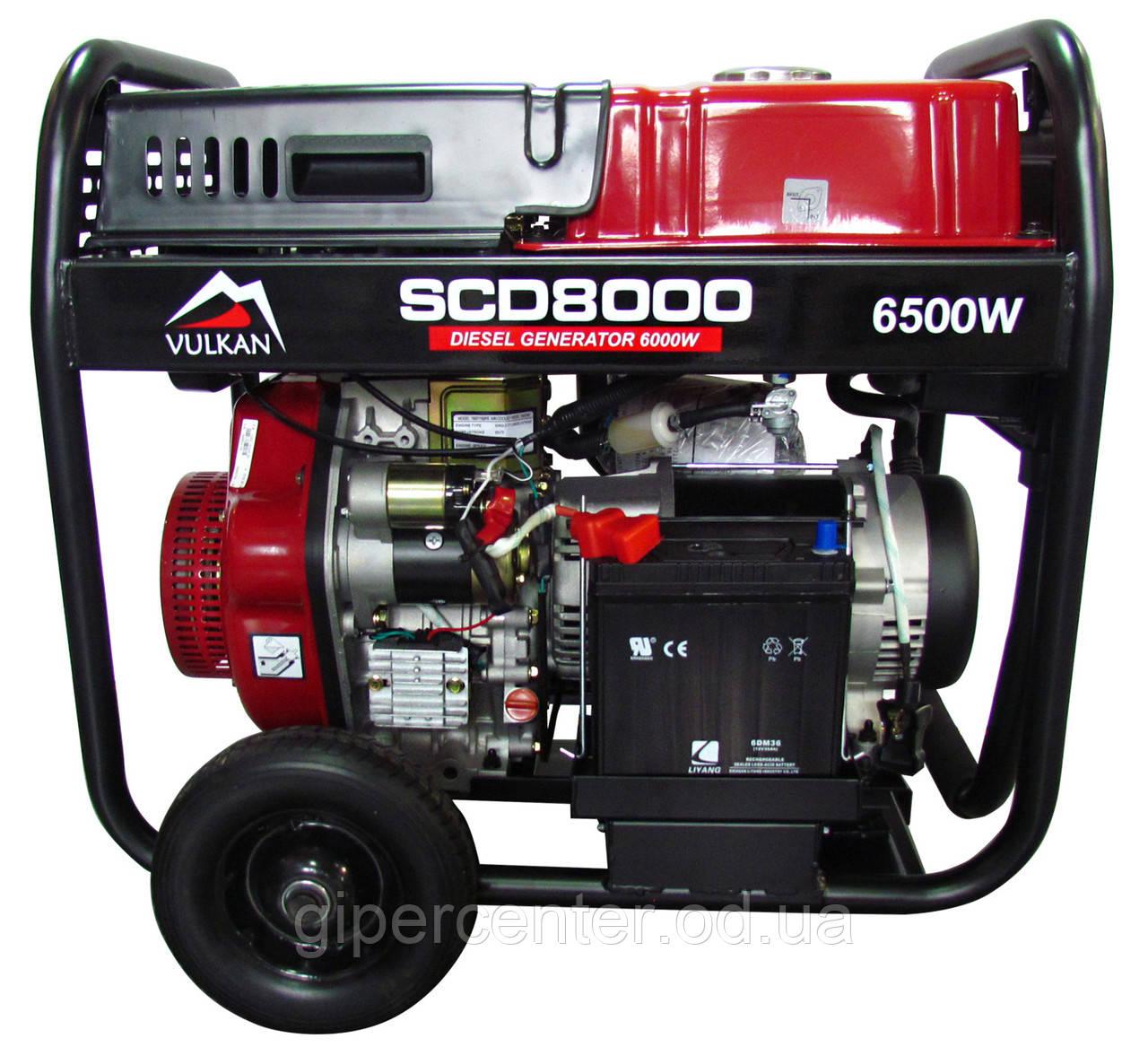 Генератор дизельный Vulkan SCD8000 (34410)