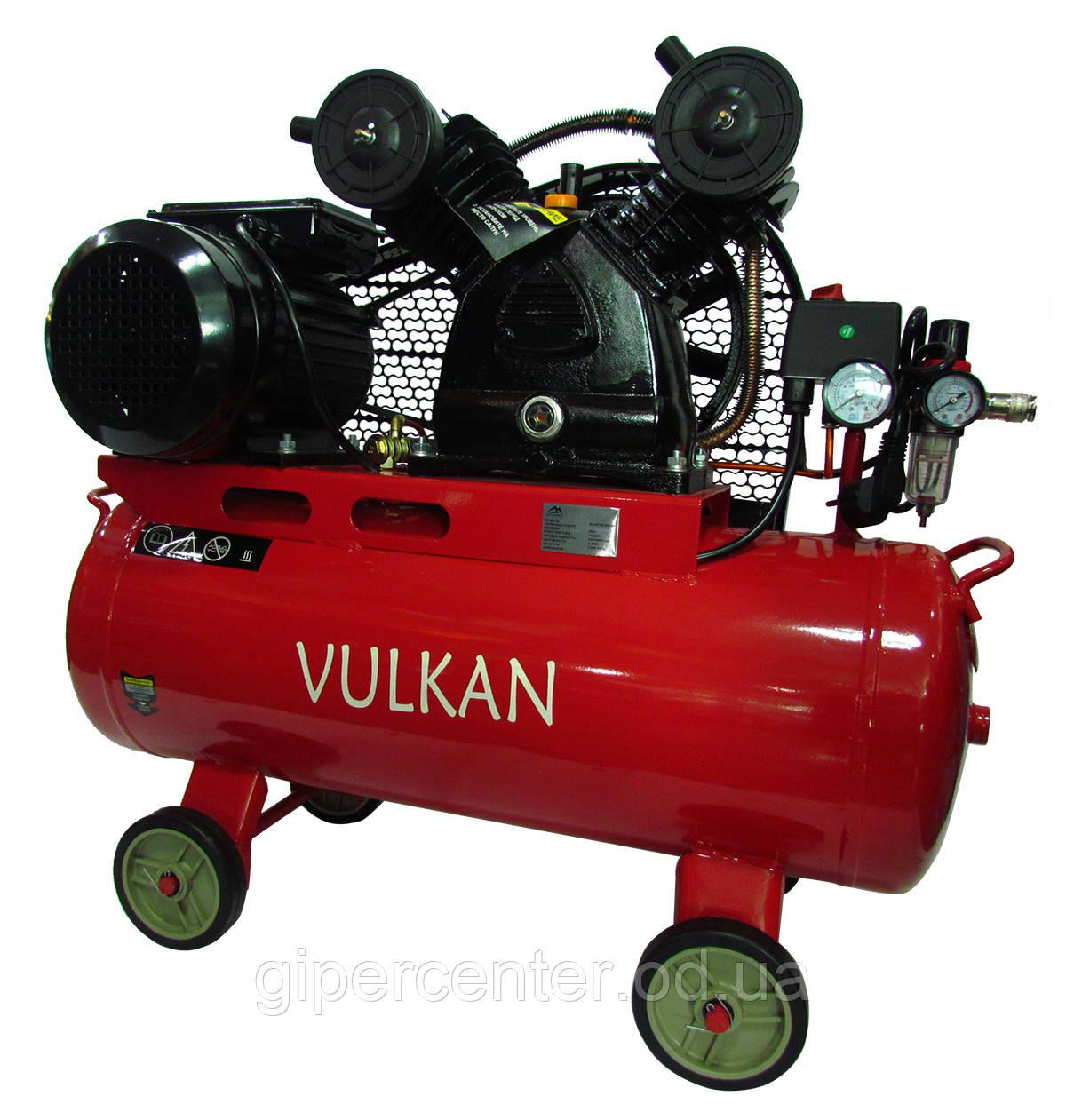 Компрессор воздушный Vulkan IBL 2070E-220-50 ременной 2.2 кВт