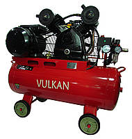 Компрессор воздушный Vulkan IBL 2070E-220-50 ременной 2.2 кВт, фото 1