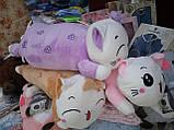 Плед дитячий + іграшка кішка і подушка 3в1, фото 2