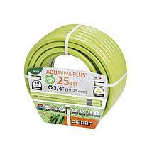 """Шланг для полива Claber Aquaviva Plus 9008, 25 м 3/4"""" зеленый"""