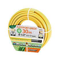 """Шланг для полива Claber Flexyfort Green 9132, 30 м 1/2"""" желтый"""