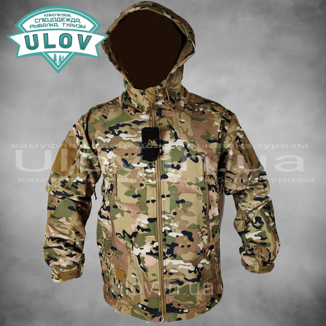 Куртка демисезонная Soft Shell ESDY (мультикам)
