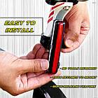 Велосипедный фонарь USB Стоп Мигалка, фото 5