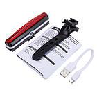 Велосипедный фонарь USB Стоп Мигалка, фото 10