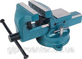 Тиски Vulkan MPVS-150 слесарные поворотные 150 мм