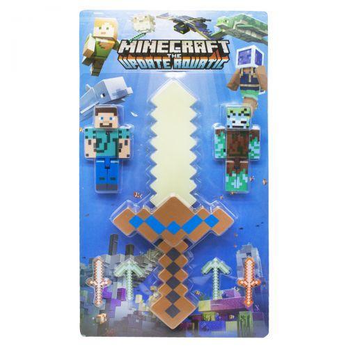"""Игровой набор с оружием """"Minecraft"""", белый меч JL19013-2"""