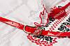 Тонкий ремешок красного цвета, фото 3
