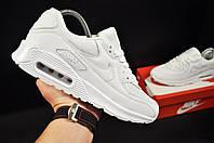 Кроссовки мужские белые реплика Nike Air Max 90 код 20768, фото 1