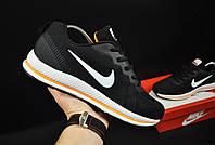 Кроссовки мужские черные реплика Nike Sport Zoom текстиль код 20759, фото 1
