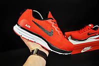 Кроссовки мужские красные реплика Nike Air Zoom Winflog текстиль код 20747, фото 1
