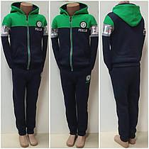 Утепленные спортивный костюм на флисе PEARL! зеленый Венгрия. 98-128